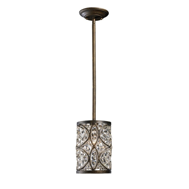 metallic pendant lighting design discoveries. Manigault 1-Light Pendant Metallic Lighting Design Discoveries