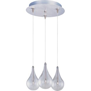 Abbotstown 3-Light RapidJack Pendant and Canopy by Wrought Studio