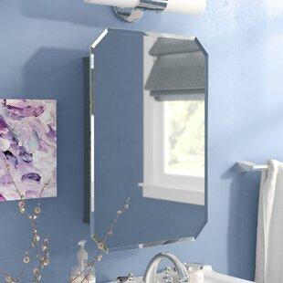 Westling 16.5 x 23.5 Recessed Medicine Cabinet ByWilla Arlo Interiors