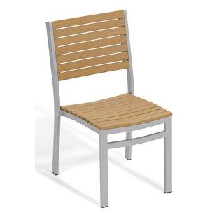 Latitude Run Farmington Stacking Patio Dining Chair (Set of 4)