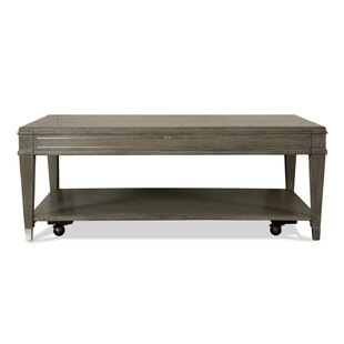 Bondy Solid Wood Coffee Table With Storage By Wrought Studio