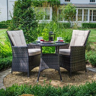 Manfredi 2 Seater Bistro Set With Cushions By Sol 72 Outdoor