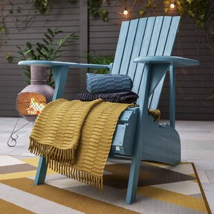 Mopani Wood Adirondack Chair