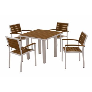 Euro 5-Piece Dining Set by POLYWOOD?