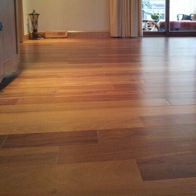 """Ashton 5"""" Solid Teak Hardwood Flooring Welles Hardwood"""