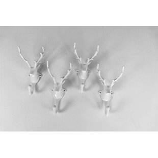 Rumi Wall Hooks (Set Of 4) By Alpen Home