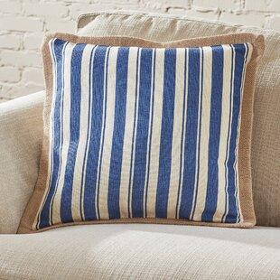Gira Jute Trim Pillow Cover