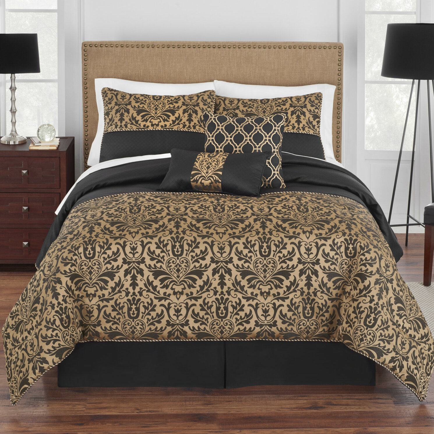 Grand Patrician Grand Genevieve Comforter Set Reviews Wayfair