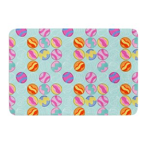 Vintage Playground III by Jane Smith Bath Mat
