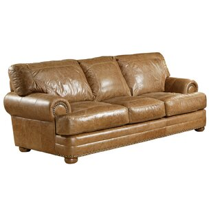 Best Reviews Houston Leather Sleeper Sofa by Omnia Leather Reviews (2019) & Buyer's Guide