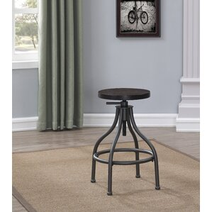 Rio Dell Adjustable Height Swivel Bar Stool by Trent Austin Design