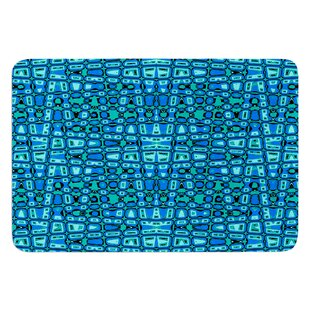 Variblue by Nina May Bath Mat