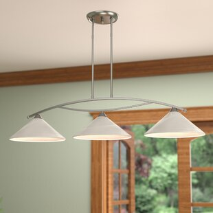World Menagerie Beecroft 3-Light Metal Kitchen Island Pendant