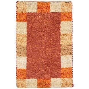 Tennyson Handwoven Wool Red Indoor/Outdoor Rug Image
