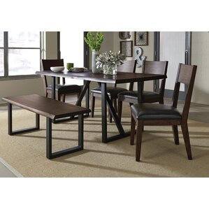 Sierra II 6 Piece Dining Set by Standard Furniture