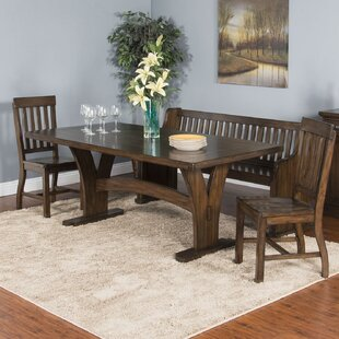 Ventrice Solid Wood Dining Table Gracie Oaks