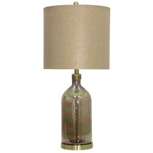 Akron Coated Art Glass 32 Table Lamp