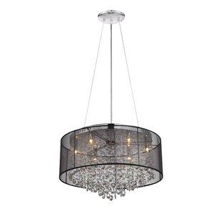 Read Reviews Lonan 6-Light Drum Pendant By House of Hampton