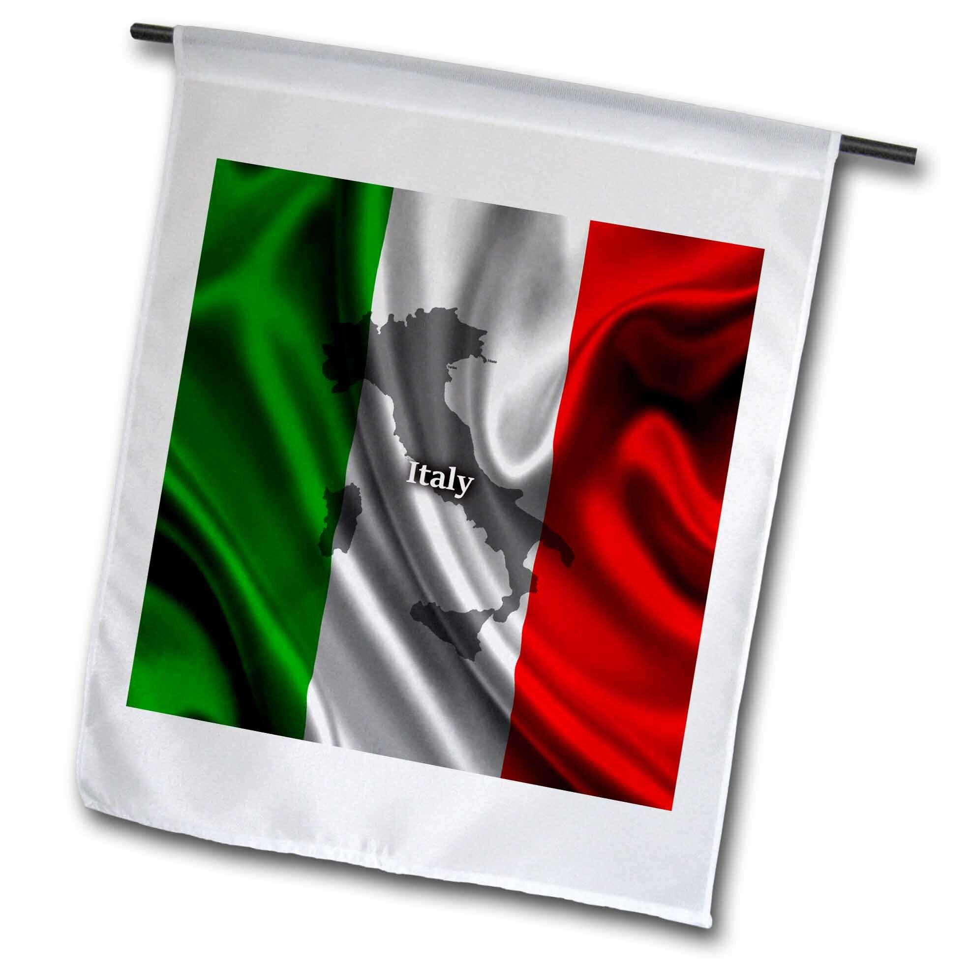 3drose Italian Design Polyester 18 X 12 In Garden Flag Wayfair
