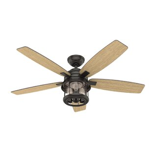 Affordable 52 Coral Bay 5 Blade LED Ceiling Fan with Remote By Hunter Fan