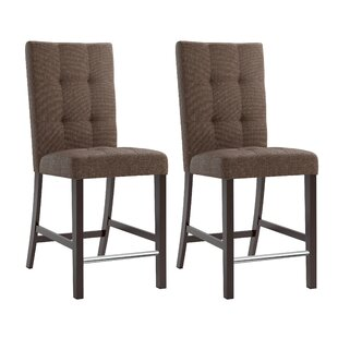 Three Posts Grayslake Upholstered Dining Chair (Set of 2)