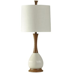 Waverly Faux Wood 34 Table Lamp
