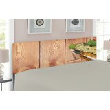 Winery Upholstered Panel Headboard by East Urban Home