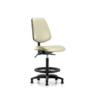 Reviews Jana High Bench Ergonomic Office Chair By Symple Stuff