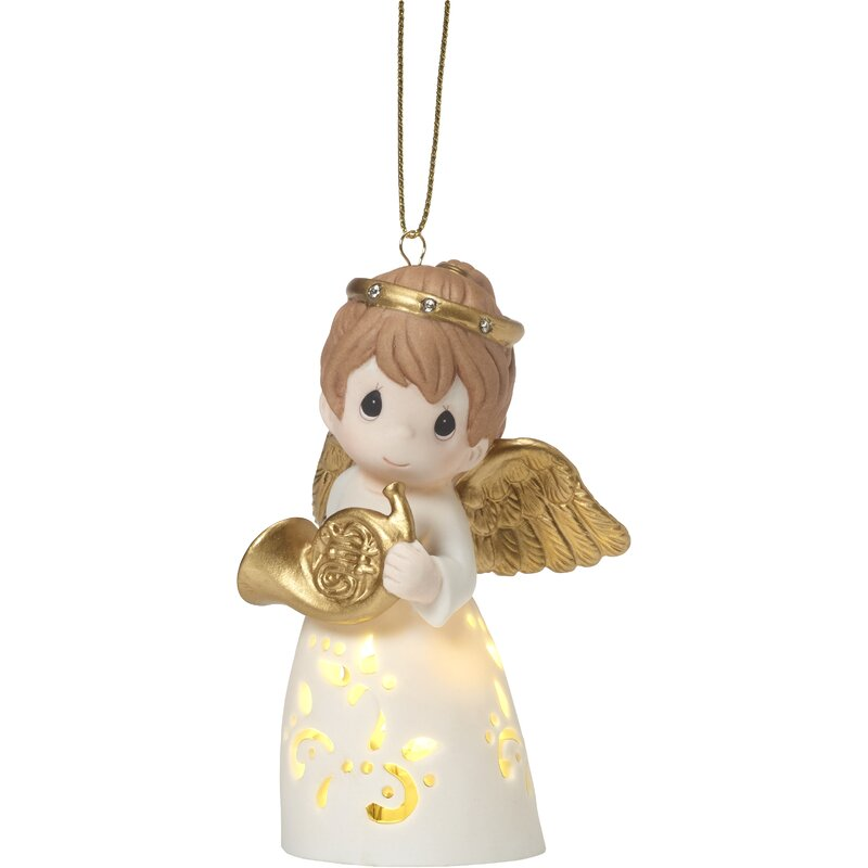 Precious Moments Angel Led Hanging Figurine Ornament Wayfair