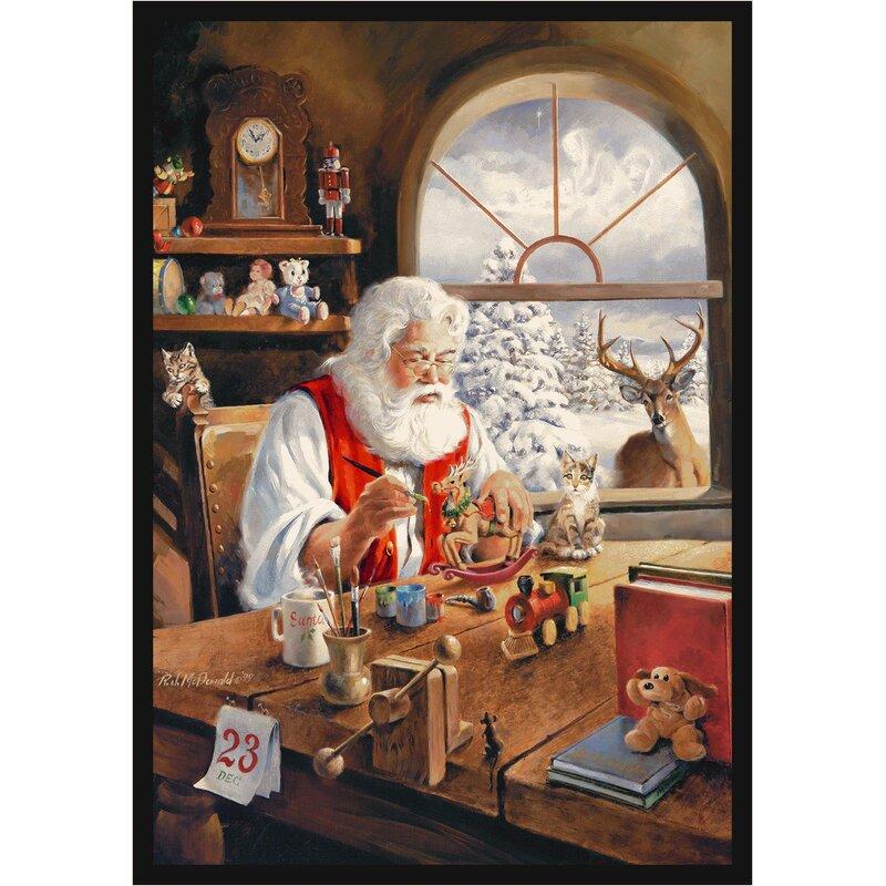 The Holiday Aisle North Burnet Gateway Christmas Party Area Rug Reviews Wayfair