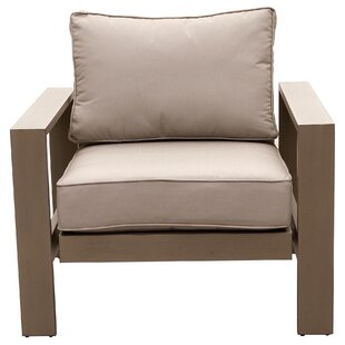 Orren Ellis Otega Motion Patio Chair with..