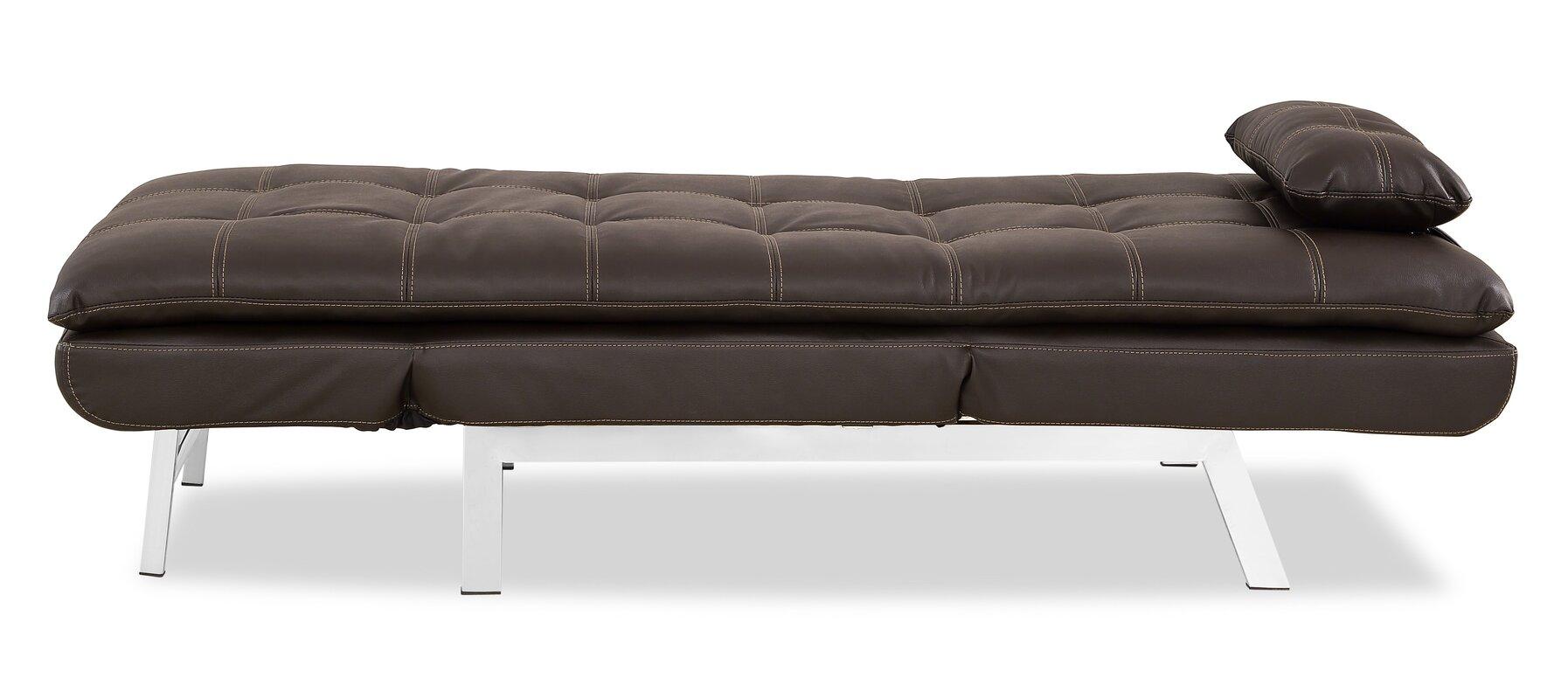 vienna convertible chaise lounge serta futons vienna convertible chaise lounge  u0026 reviews   wayfair