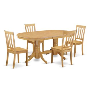 Rockdale 5 Piece Dining Set by DarHome Co Great Reviews