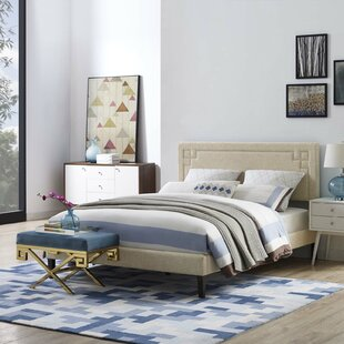 Twerton Upholstered Platform Bed by Wrought Studio