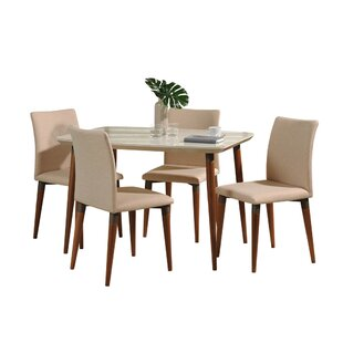 Tasker 5 Piece Dining Set Union Rustic