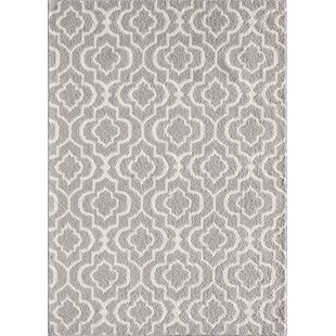 Big Save Myra Gray/White Area Rug By Zipcode Design