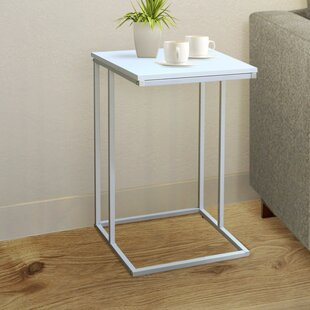 Cadorette Modern End Table by Wrought Studio