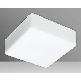 Besa Lighting Geo 1-Light Outdoor Flush Mount