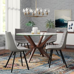 Reviews Matsumura Upholstered Dining Chair (Set of 4) by Ivy Bronx Reviews (2019) & Buyer's Guide