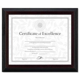 certificate frames wayfair