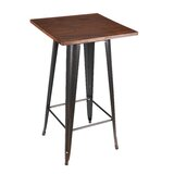 Peeples Bar Height Dining Table by Williston Forge