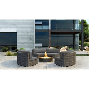 Gilleland 3 Piece Sectional Set with Sunbrella Cushion