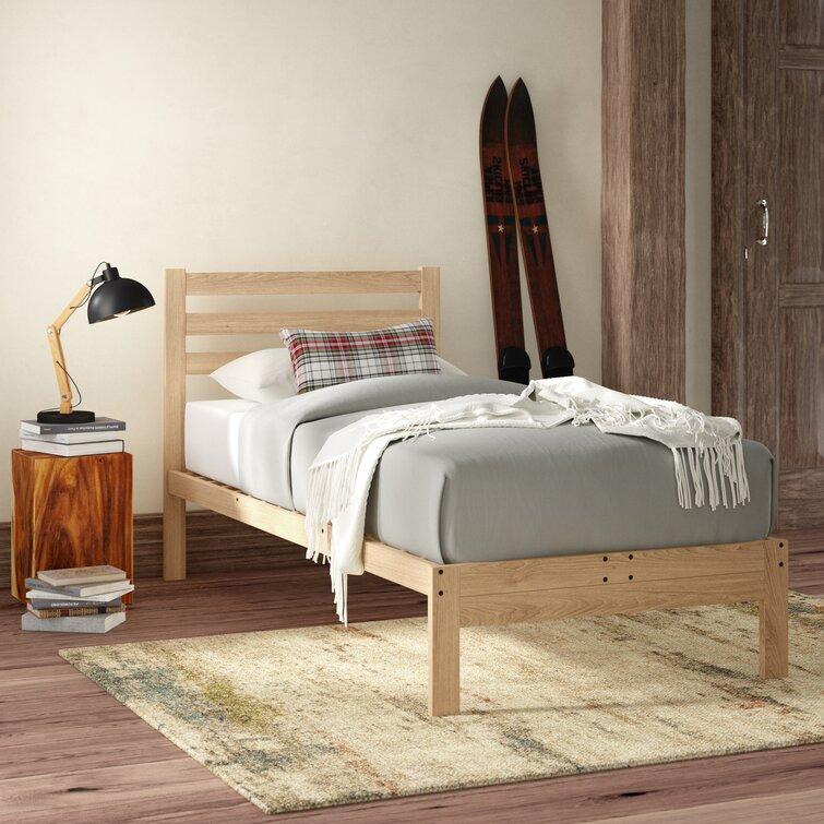 Georgia Solid Wood Platform Bed