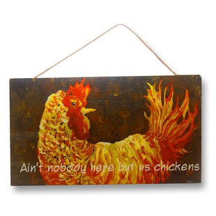 Chicken Sign Wall Decor