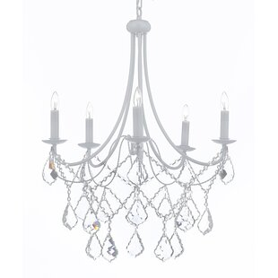 Willa Arlo Interiors Evon 5-Light LED Candle Style Chandelier