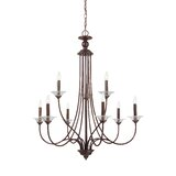 Barbro 9-Light Candle Style Tiered Chandelier byBirch Lane™ Heritage