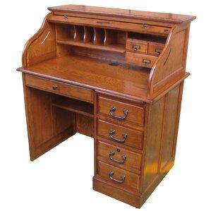Wonderful Moon Roll Top Secretary Desk