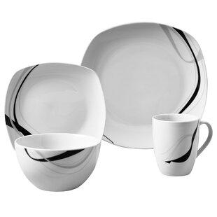 Ranieri 16 Piece Dinnerware Set Service for 4. by Wrought Studio  sc 1 st  Wayfair & Wrought Studio Dinnerware Sets You\u0027ll Love | Wayfair