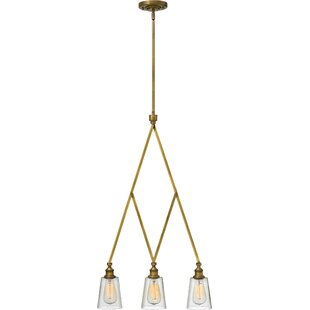 Williston Forge Lenita 3-Light Kitchen Island Pendant