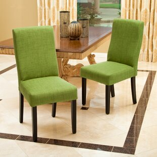 Brayden Studio Caverly Parsons Chair (Set..